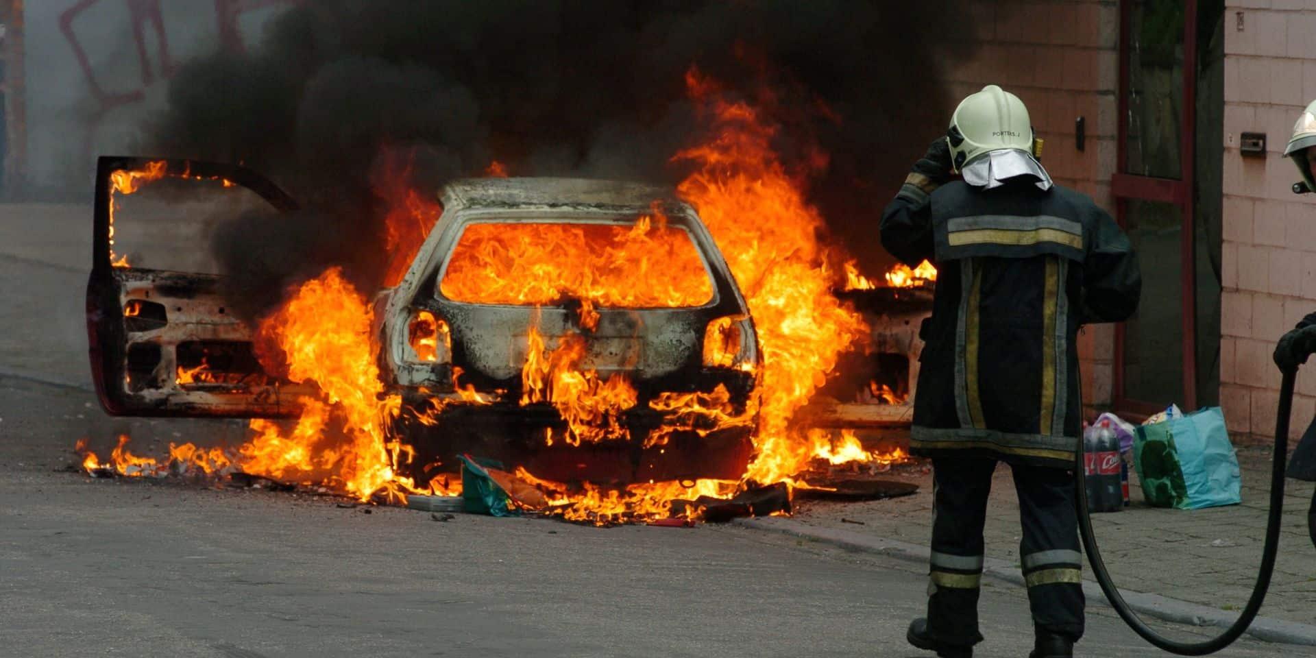 Épidémie d'incendies de voitures à Braine-l'Alleud