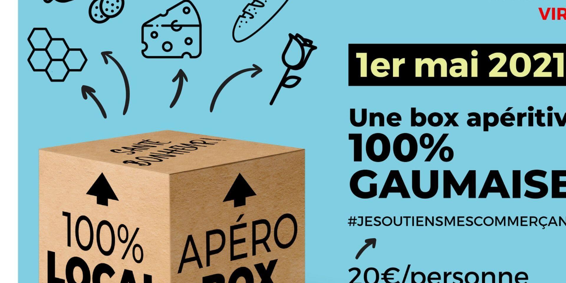 1er mai solidaire au PS Luxembourg : 650 box apéritives ont été vendues