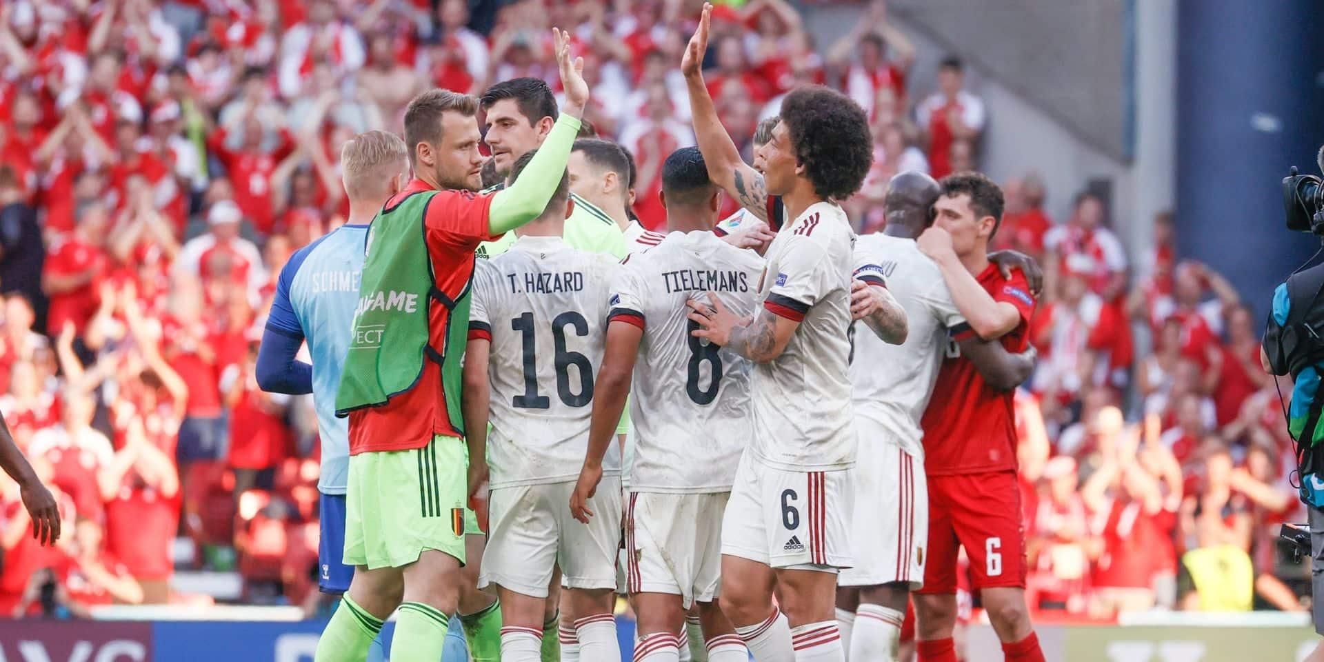Voici les adversaires potentiels de la Belgique en huitième de finale