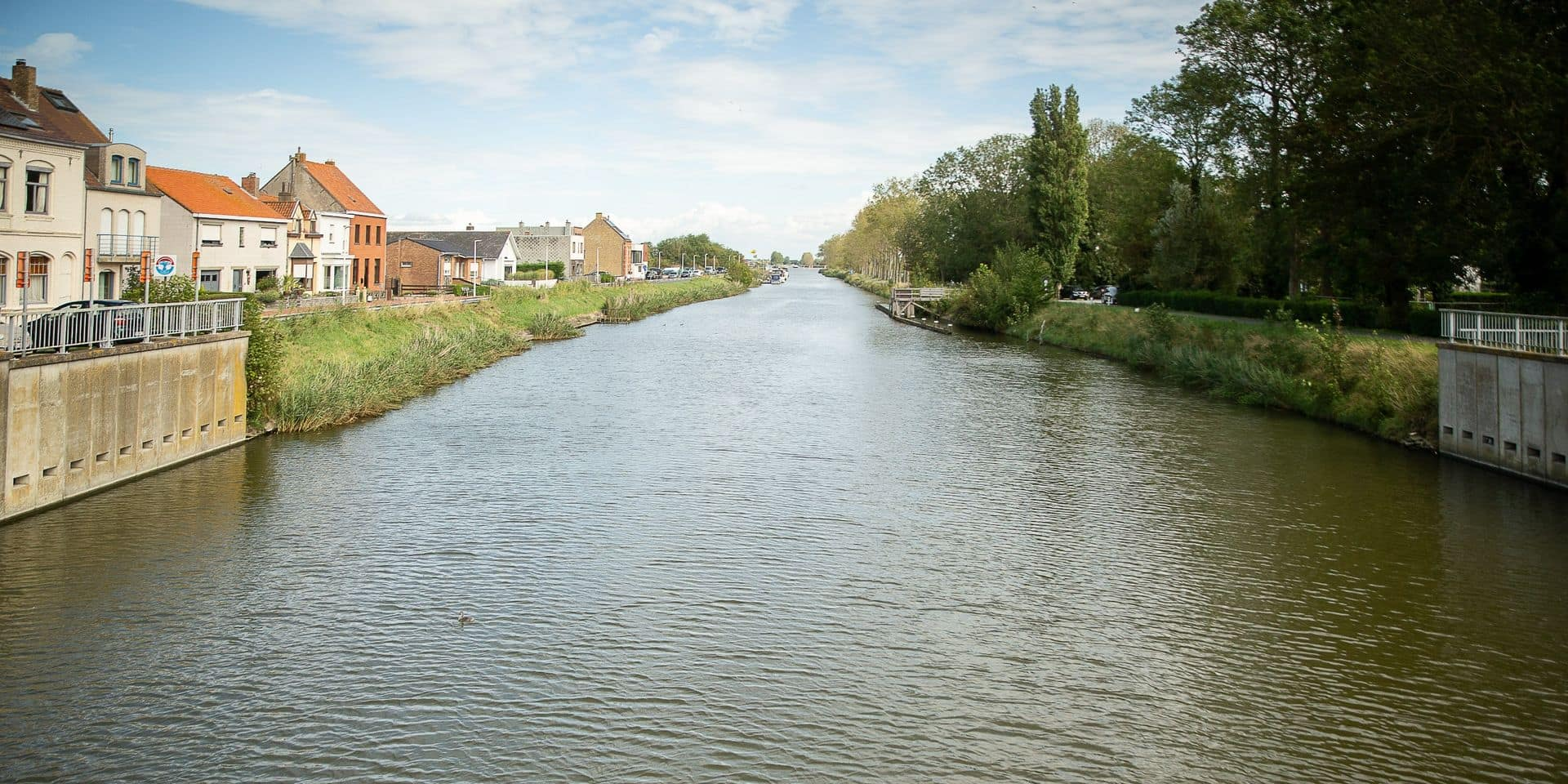 """La Flandre n'est pas épargnée par les inondations, notamment à Nieuport et à Knokke-Heist : """"Énormément d'eau est tombée sur une très courte période de temps"""""""