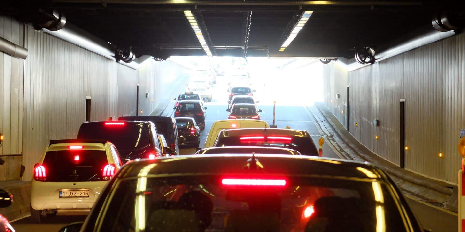Les tunnels Botanique, Trône, Bailli, Loi et Montgomery rouvrent : le problème a été résolu