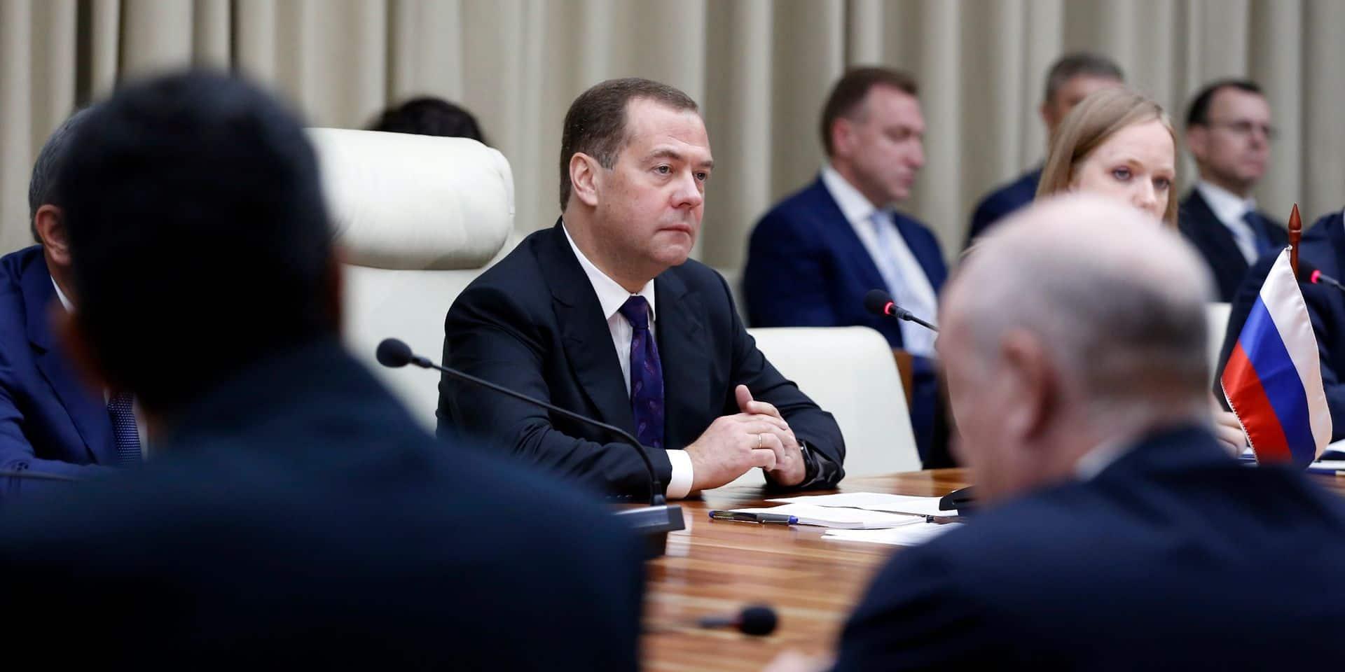"""Dopage : les sanctions de l'AMA témoignent d'une """"hystérie antirusse"""" selon le Premier Ministre russe"""