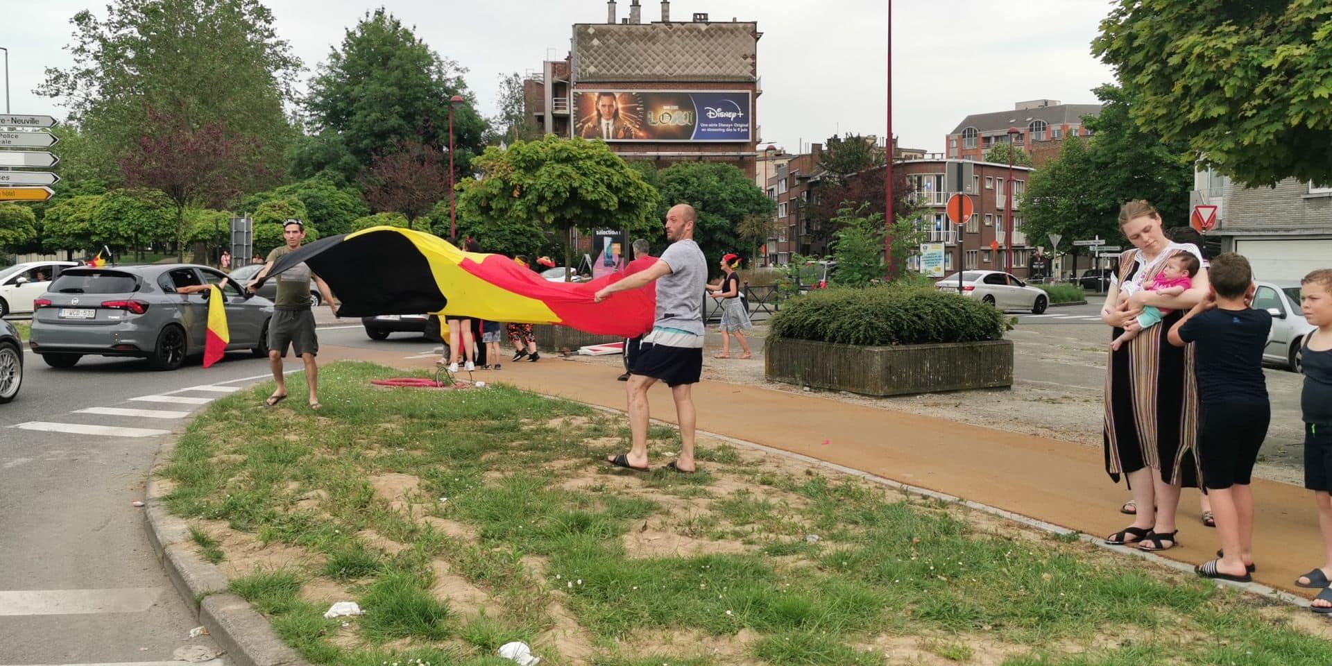 Des terrasses désespérément vides à Charleroi après le match
