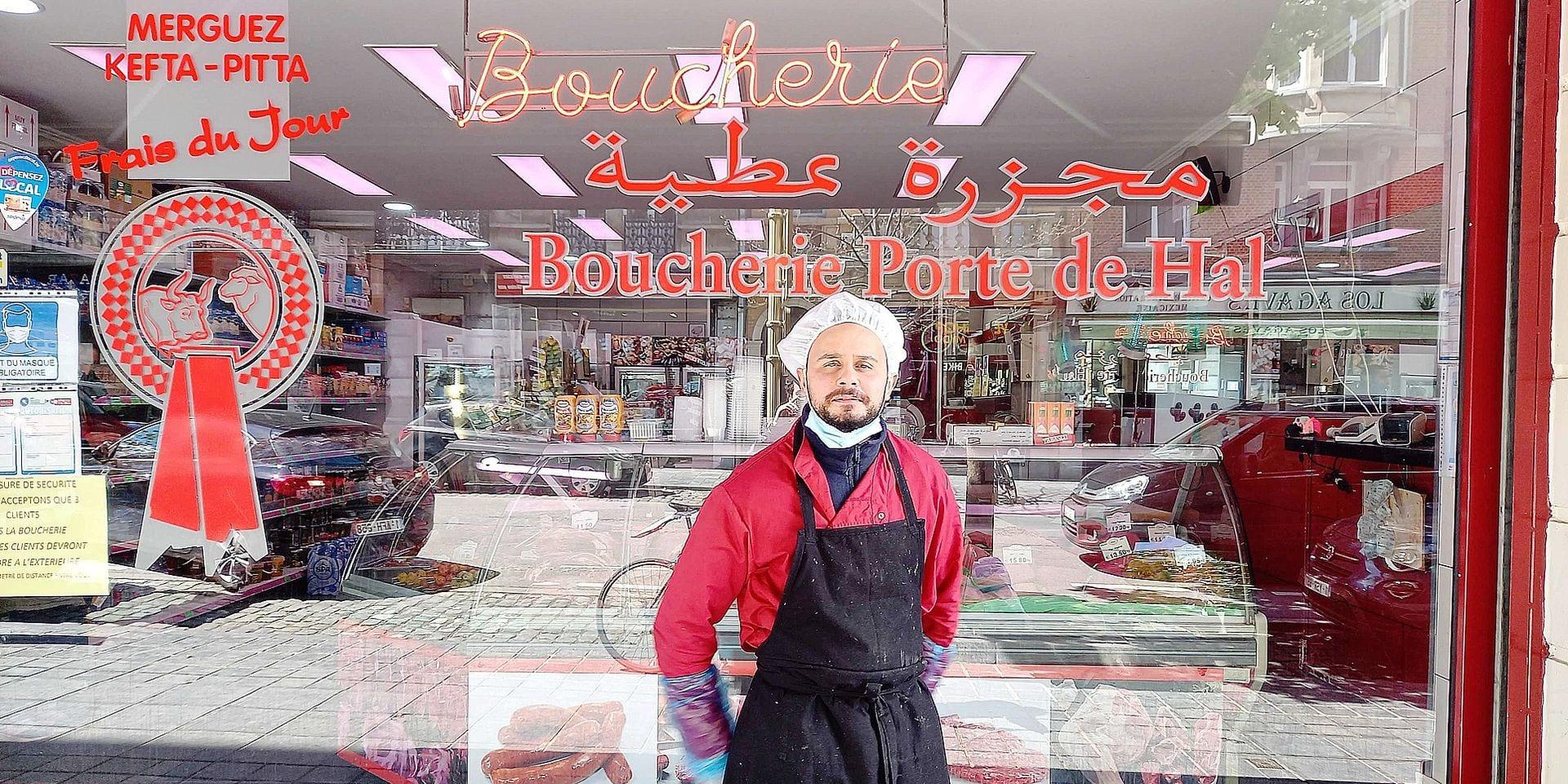 """Le boucher qui a sauvé un policier du lynchage à Saint-Gilles : """"Je n'ai fait que mon devoir !"""""""
