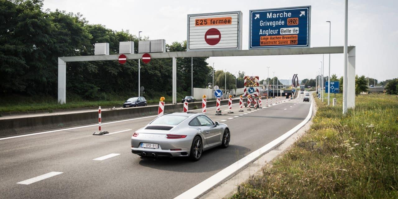 Le tunnel sous Cointe complètement rouvert en direction de Bruxelles !