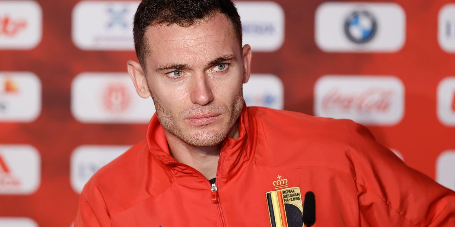 """Thomas Vermaelen : """"Je suis là pour gagner l'Euro, pas pour répondre aux critiques"""""""