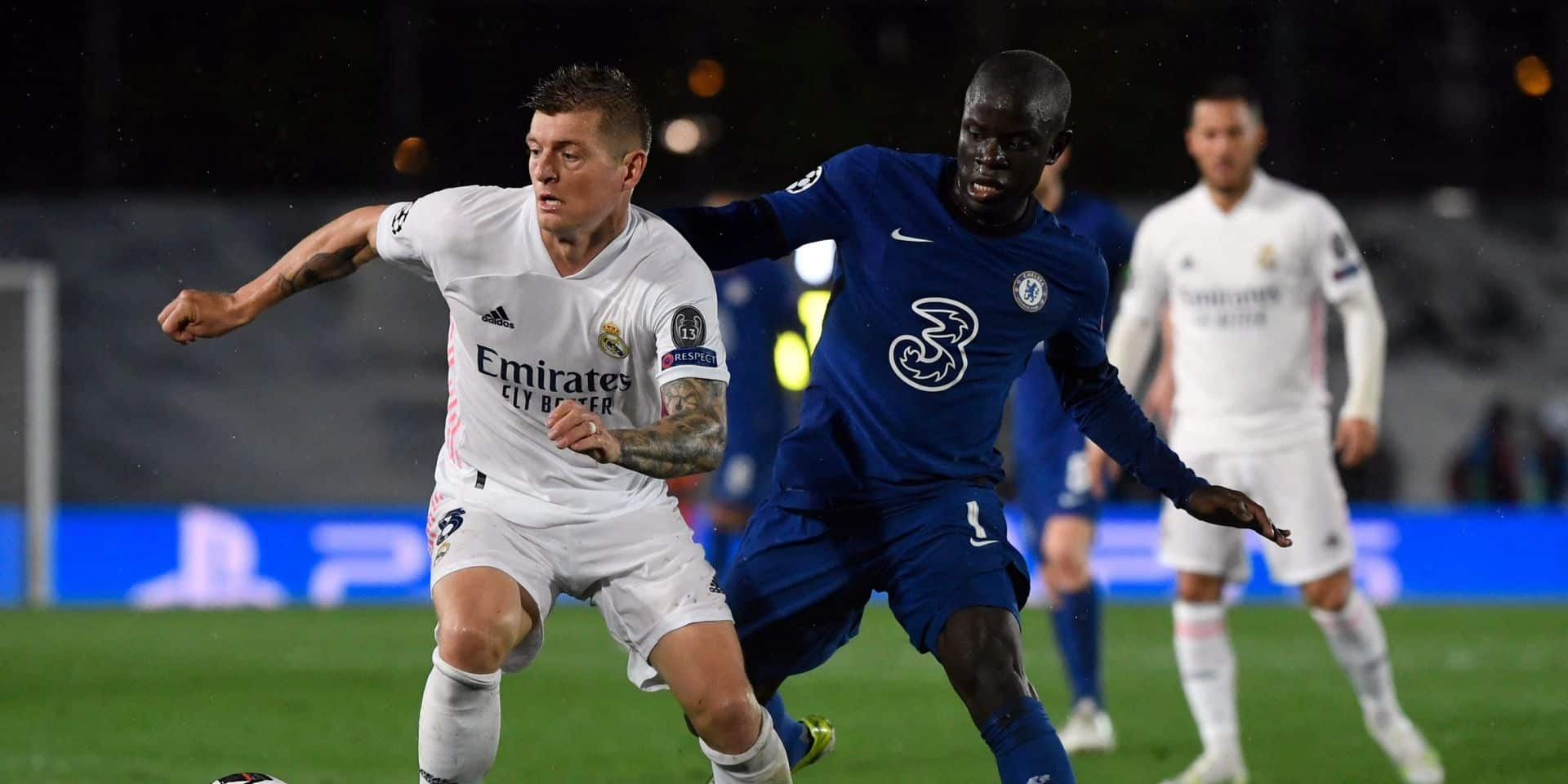 Real Madrid-Chelsea: pour le feu d'artifice, on attendra mercredi prochain
