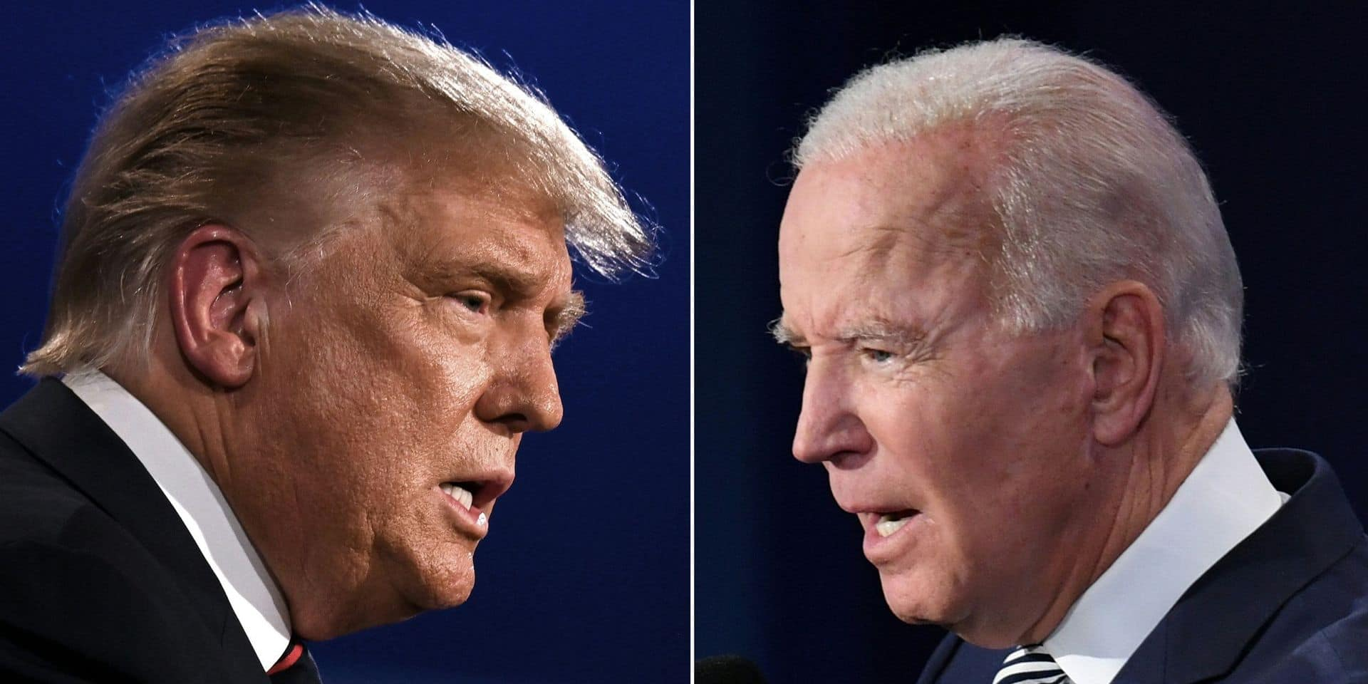 Dernier débat sous haute tension entre Trump et Biden avant l'élection