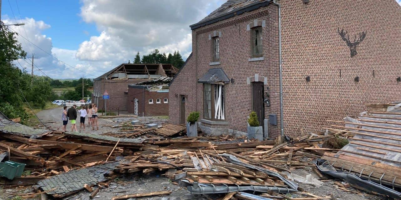 Intempéries : le plan communal d'urgence également déclenché à Rochefort, 25 sinistrés mais pas de blessés