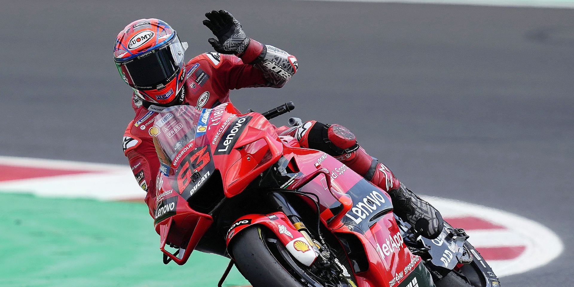 Moto GP: Francesco Bagnaia sur un nuage en Aragon