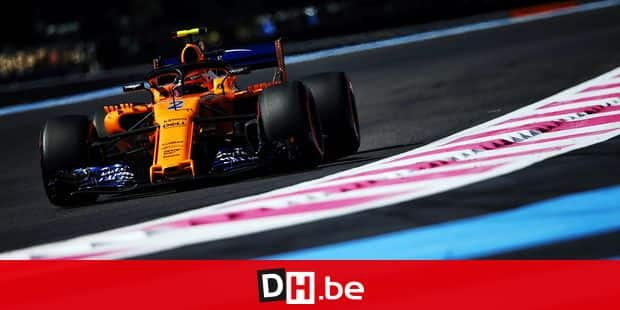 Stoffel Vandoorne (BEL) McLaren MCL33. 22.06.2018. Formula 1 World Championship, Rd 8, French Grand Prix, Paul Ricard, France, Practice Day. - www.xpbimages.com, EMail: requests@xpbimages.com - copy of publication required for printed pictures. Every used picture is fee-liable. © Copyright: Moy / XPB Images