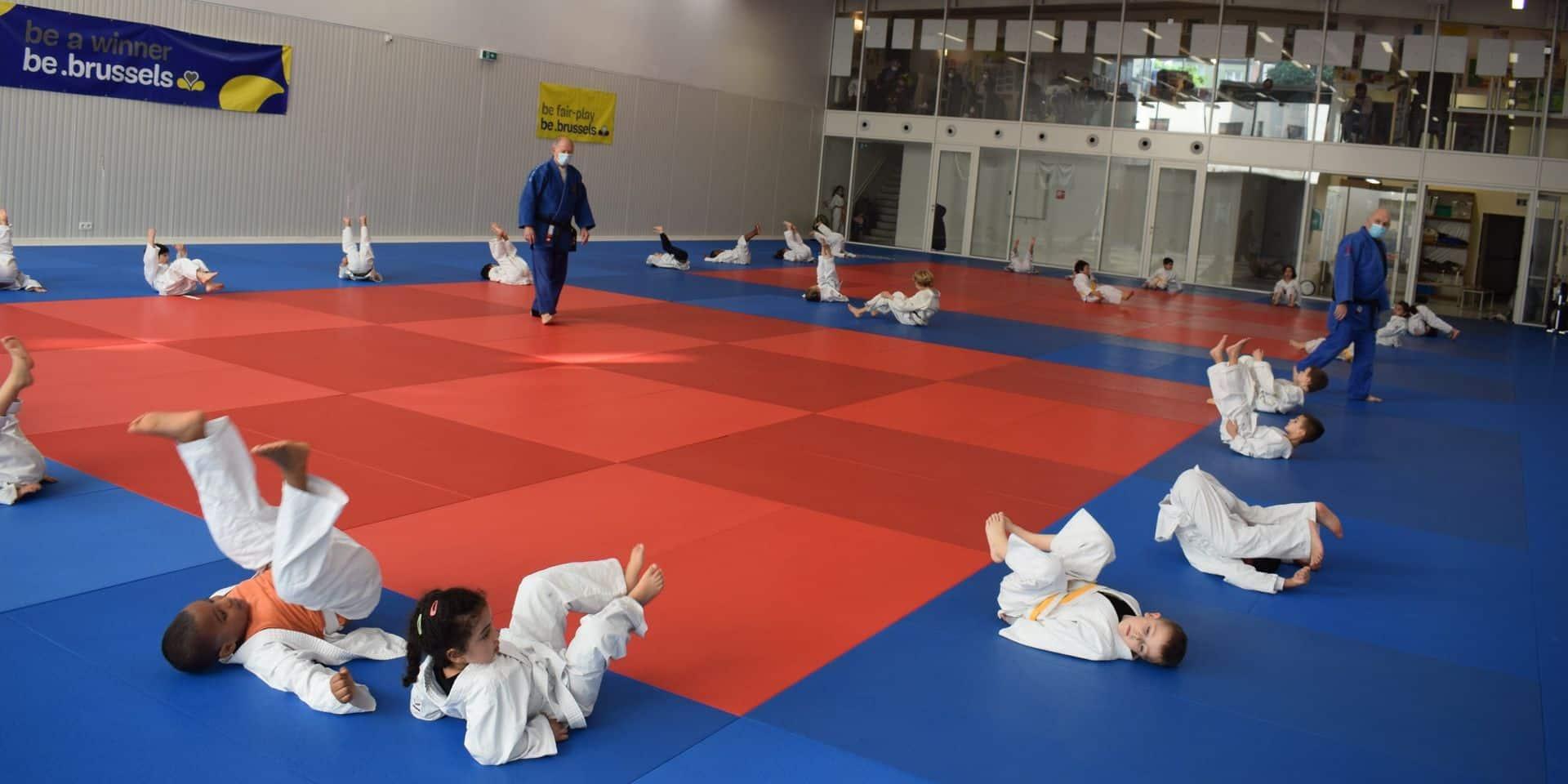 Des initiations de judo pour les fêtes d'anniversaire grâce au Crossing Schaerbeek