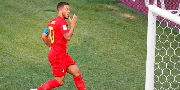 """Hazard n'est pas tendre avec Romelu: """"Il se cachait un peu en première mi-temps et ce n'est pas facile de jouer avec un ..."""