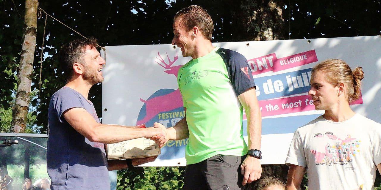 Sébastien Henrotte et le Festival Trail Semois: onze participations, onze podiums