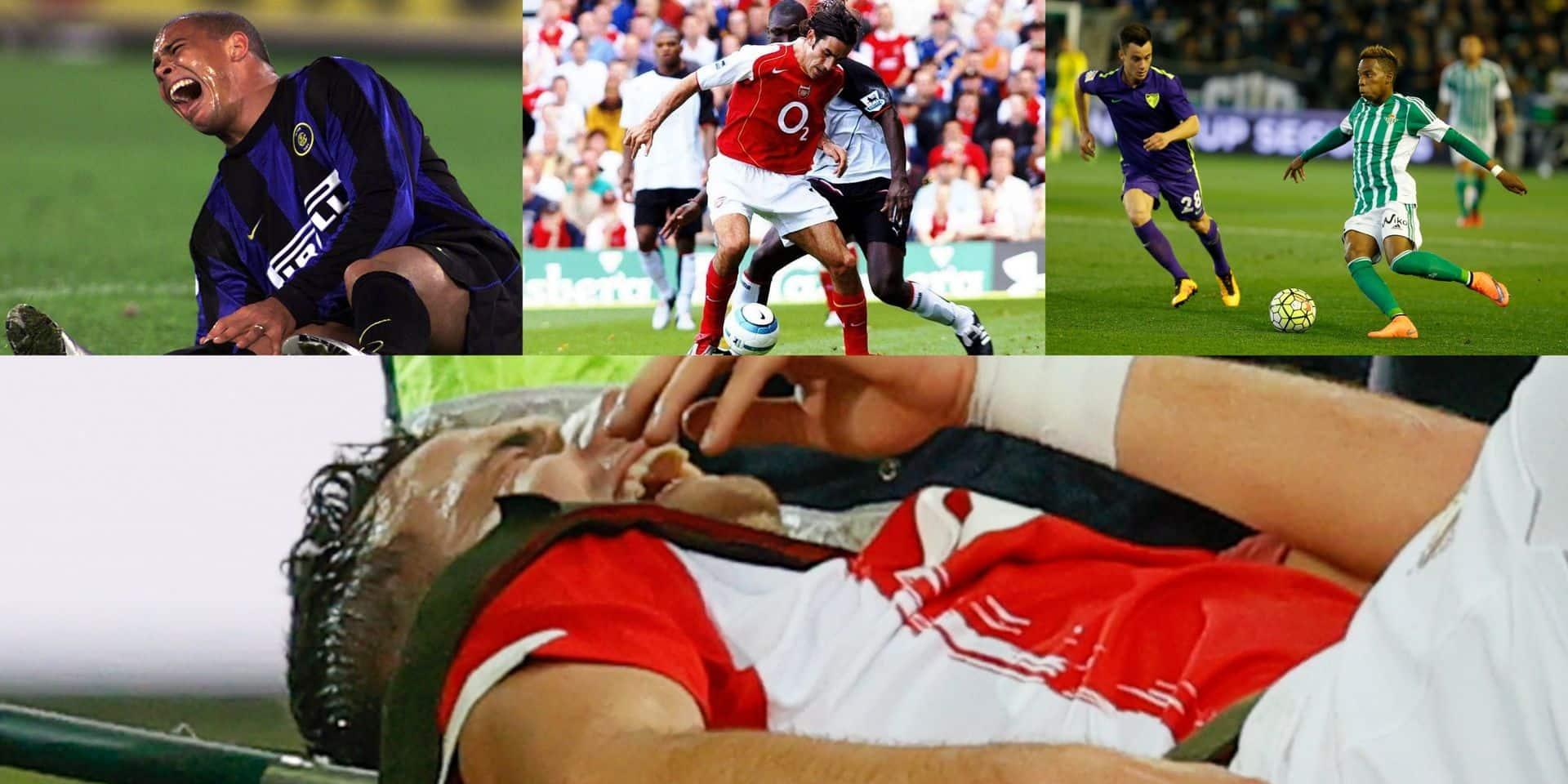 Ronaldo, Musonda, Zaniolo, Pires: Vanheusden n'est pas le premier à connaître plusieurs graves blessures aux genoux