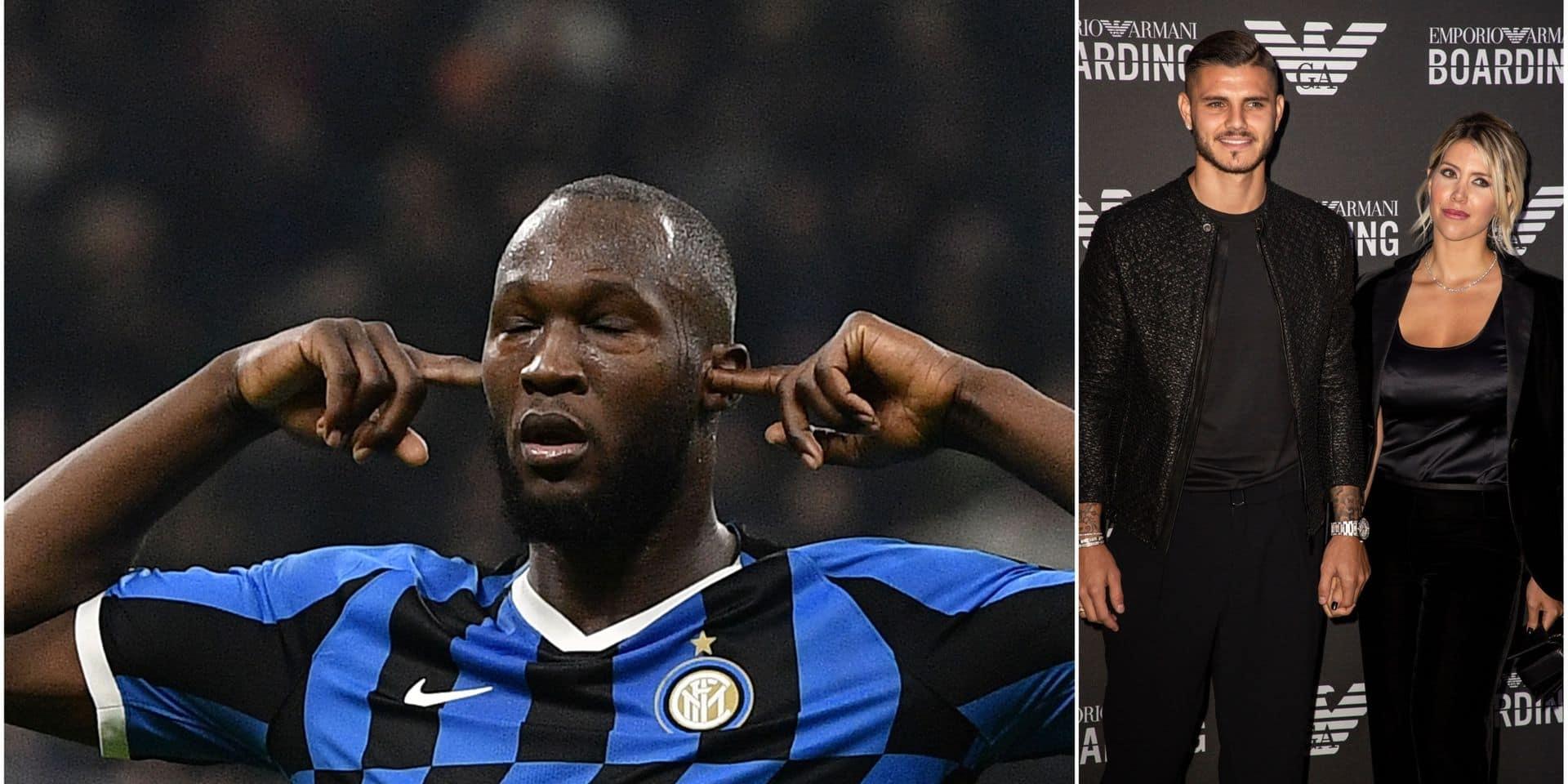 Quand l'agent de Mauro Icardi critique... Romelu Lukaku !