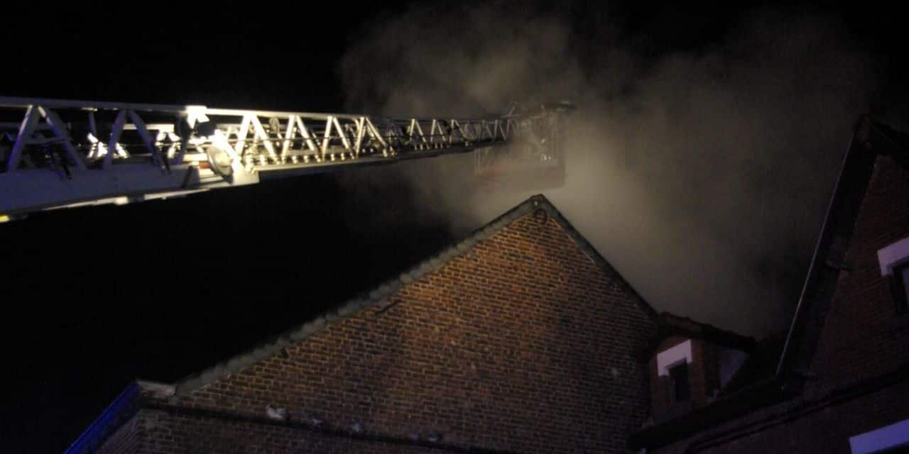 Soignies: la maison du Dr Dobbels ravagée par les flammes