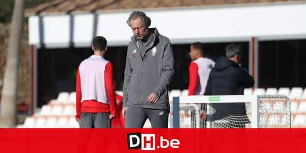 Standard's head coach Michel Preud'homme pictured during the third day of the winter training camp of Belgian first division soccer team Standard de Liege, in Marbella, Spain, Sunday 06 January 2019. BELGA PHOTO VIRGINIE LEFOUR