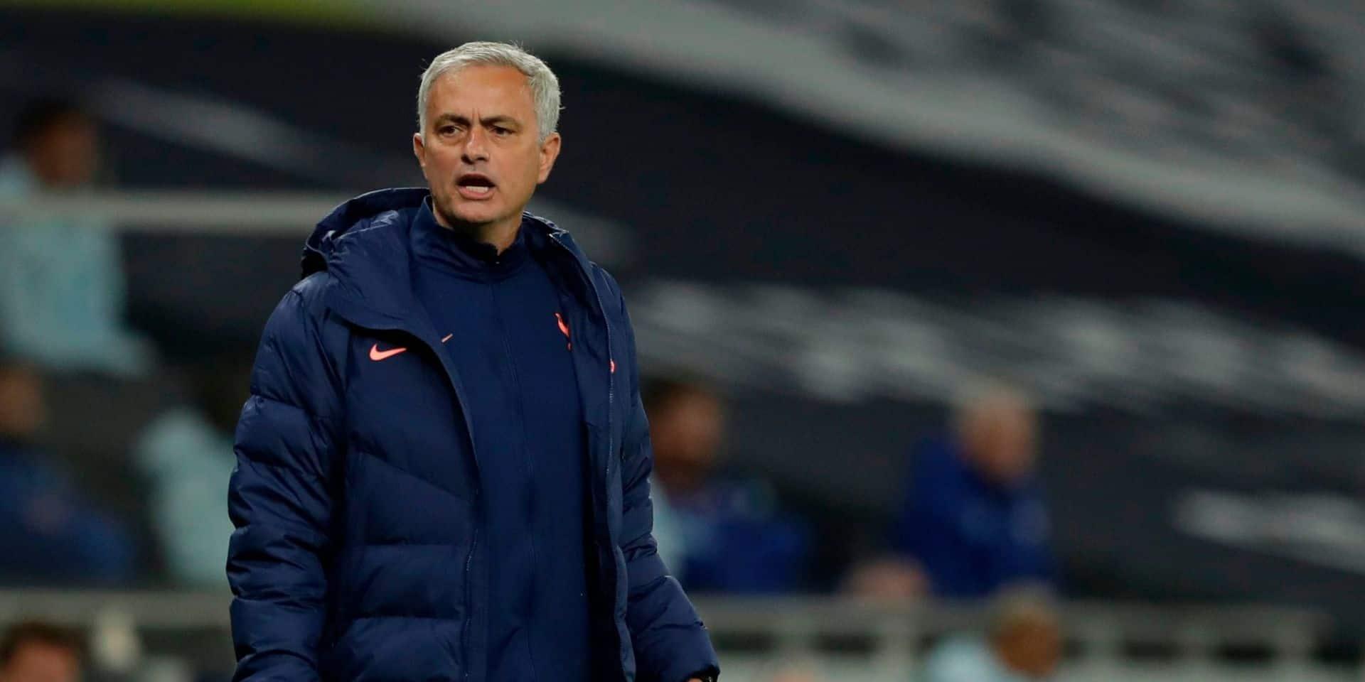Premier League : José Mourinho, coach d'Alderweireld, appelle les sélectionneurs à épargner ses Spurs