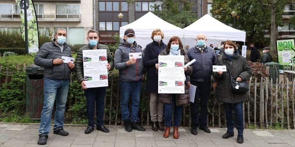 Une manifestation contre le projet de tram à Neder-Over-Heembeek se tiendra ce samedi