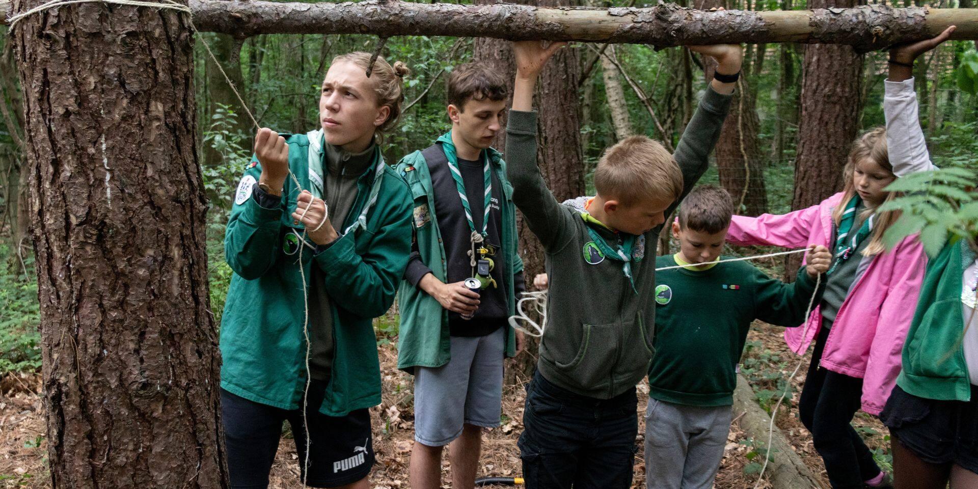 Cinquante scouts mis en quarantaine à la suite d'un cas positif dans le camp