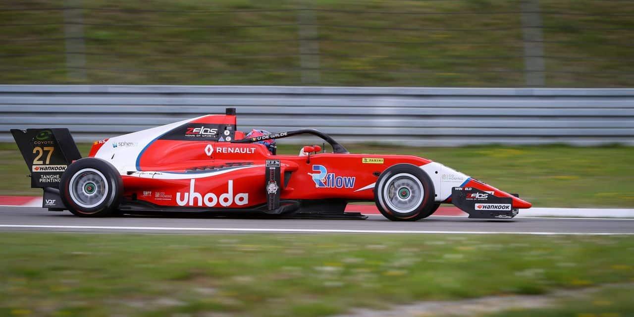 Eurocup Formula Renault: Ugo de Wilde s'élancera en première ligne à Francorchamps