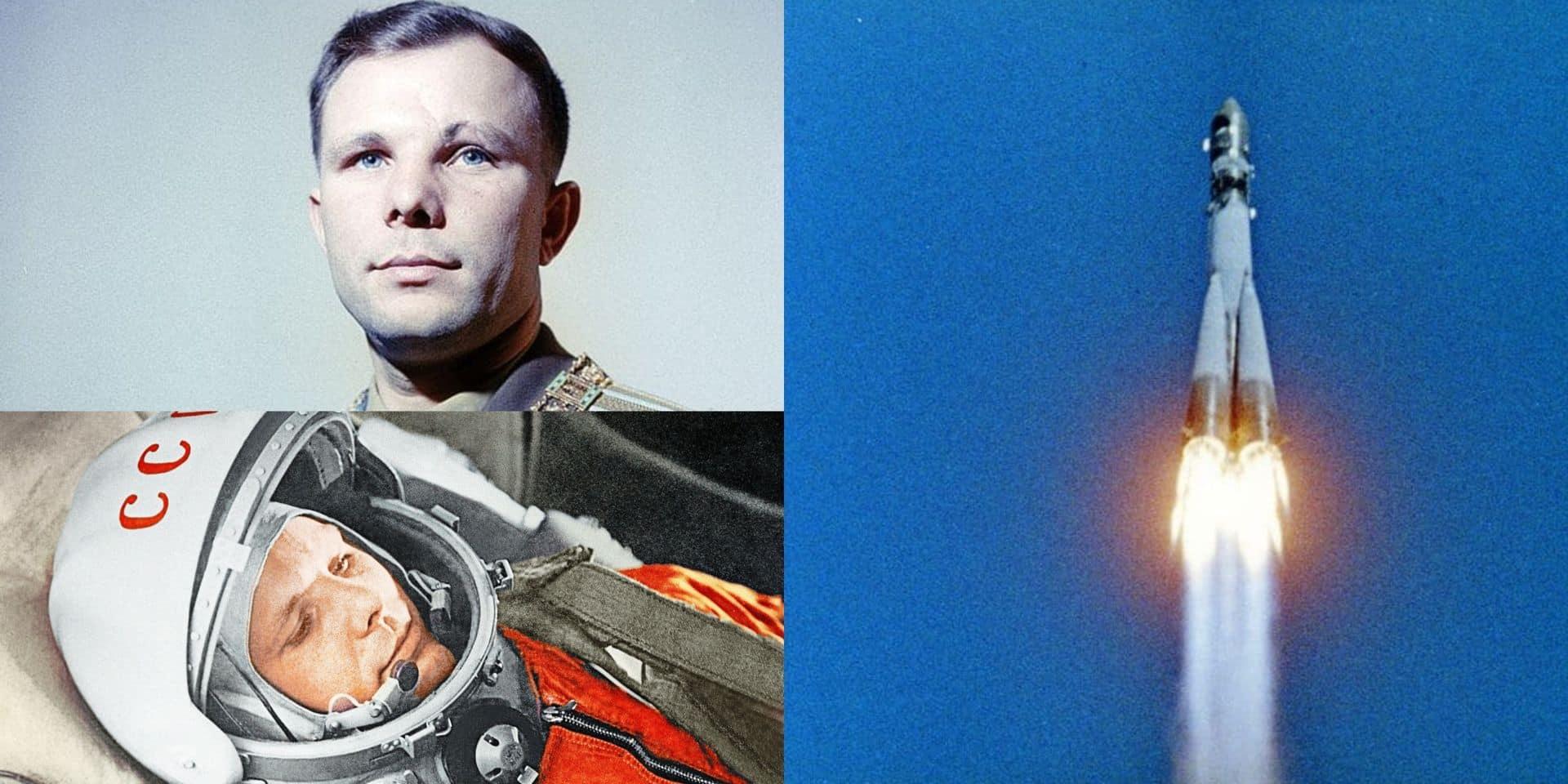 """Il y a 60 ans, la double gifle de Youri Gagarine, premier être humain dans l'espace: """"La Russie s'est servie de lui comme propagande"""""""