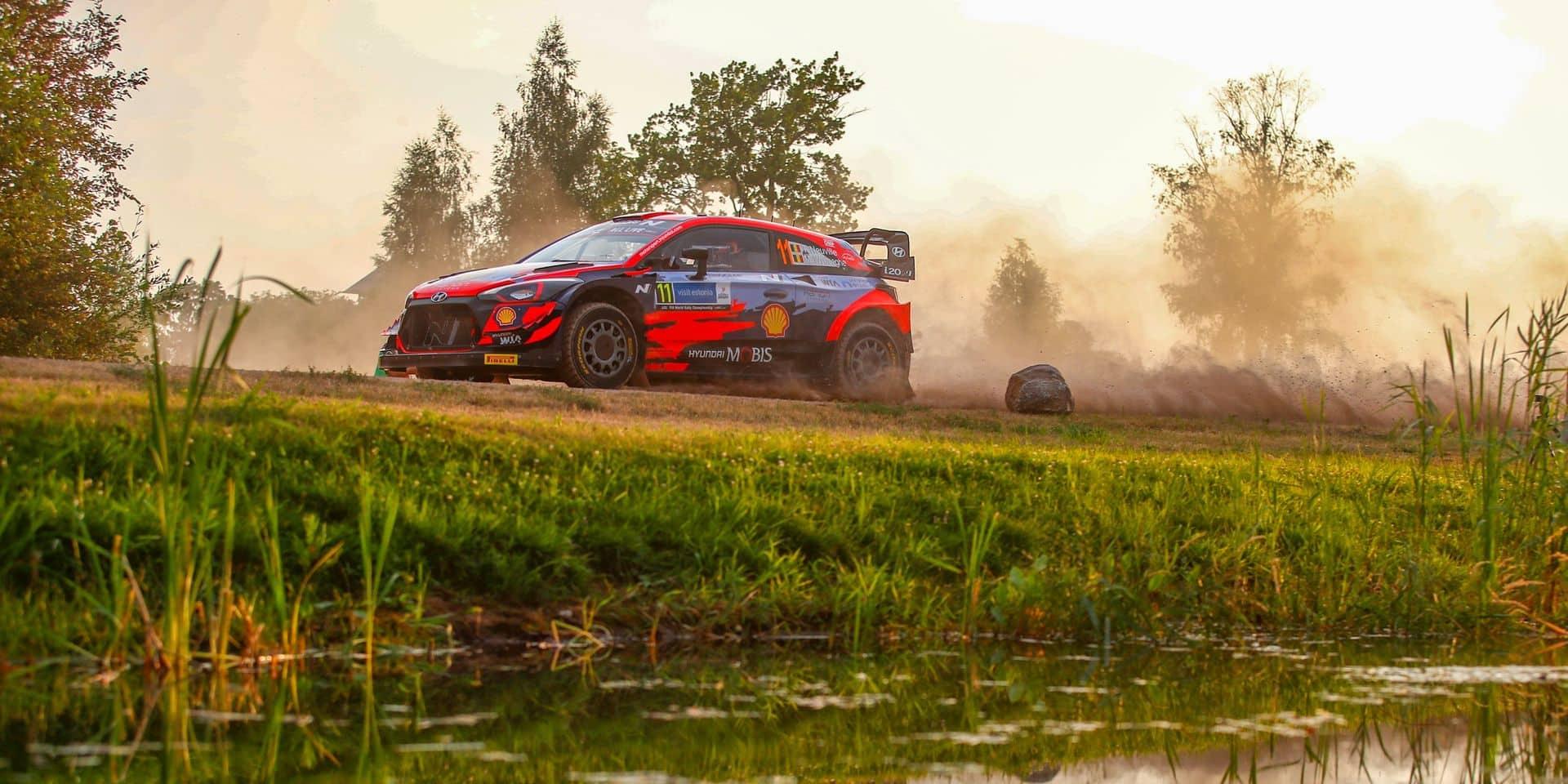 WRC Estonie ES21: Neuville remporte la répétition de la Power Stage