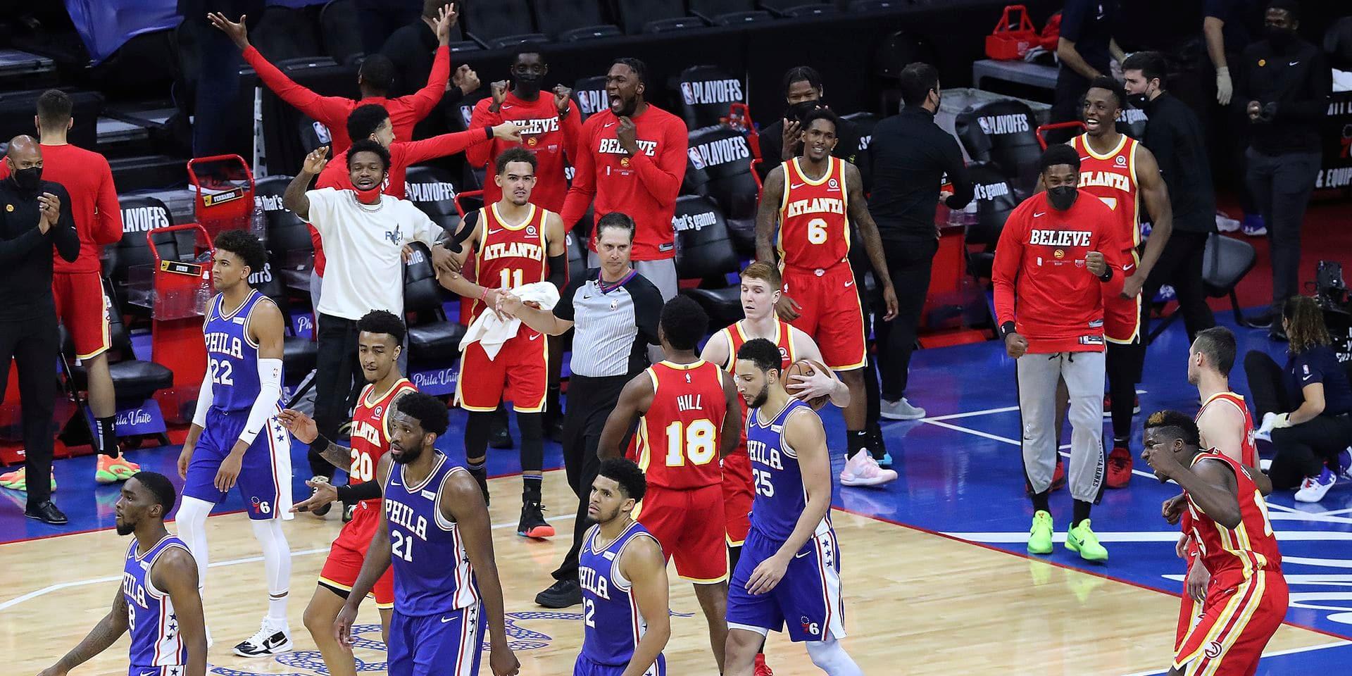NBA: les Hawks ébourrifants aux portes de la finale de conférence Est
