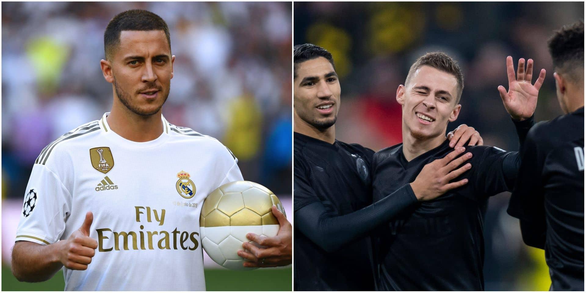 """Eden Hazard a réfusé de jouer au Bayern Munich pour ne pas faire de l'ombre à son frère: """"Il voulait que son frère soit connu en tant que Thorgan Hazard"""""""