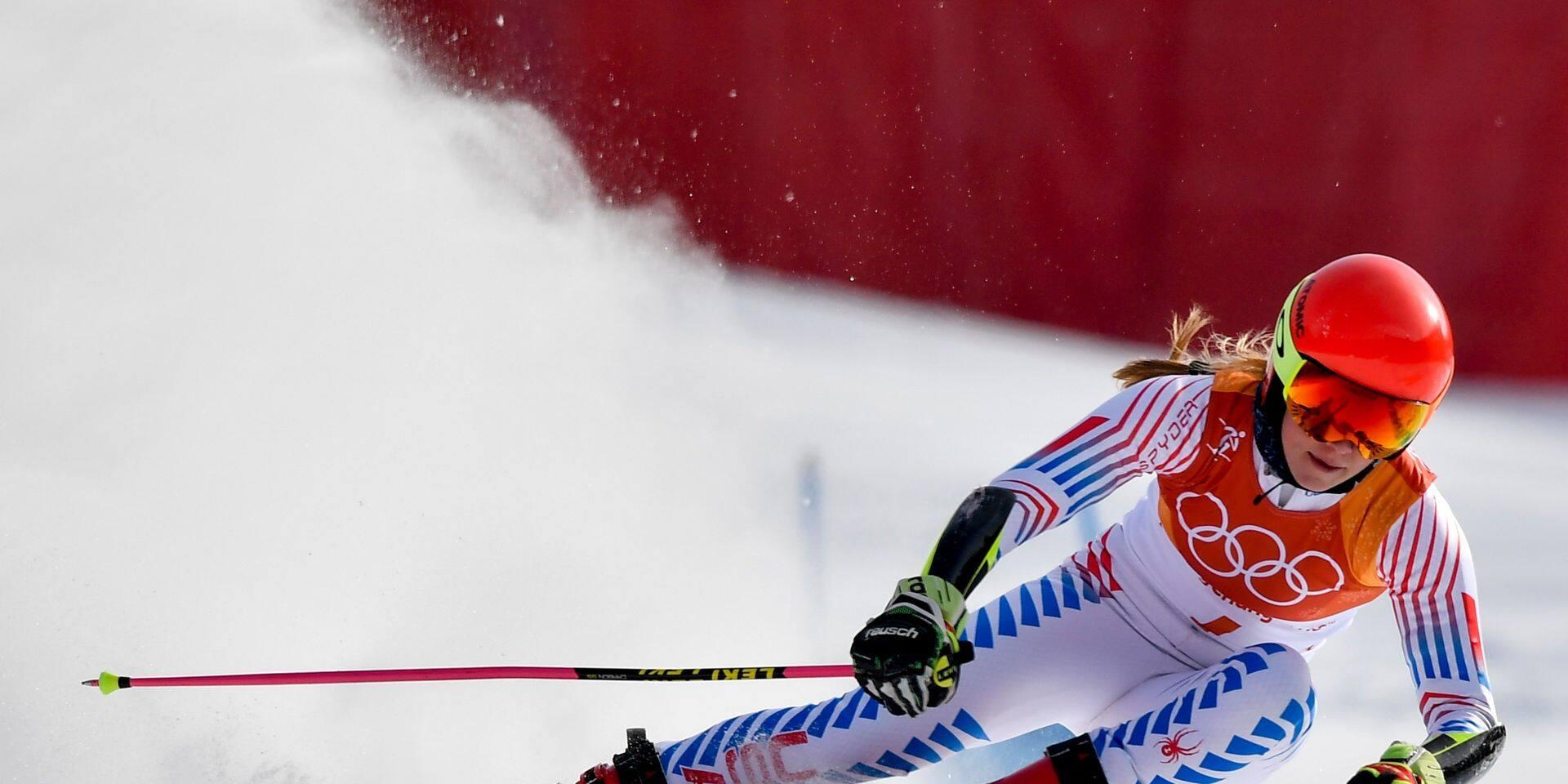 Coupe du monde de ski alpin: Mikaela Shiffrin revient à la compétition après 300 jours d'absence