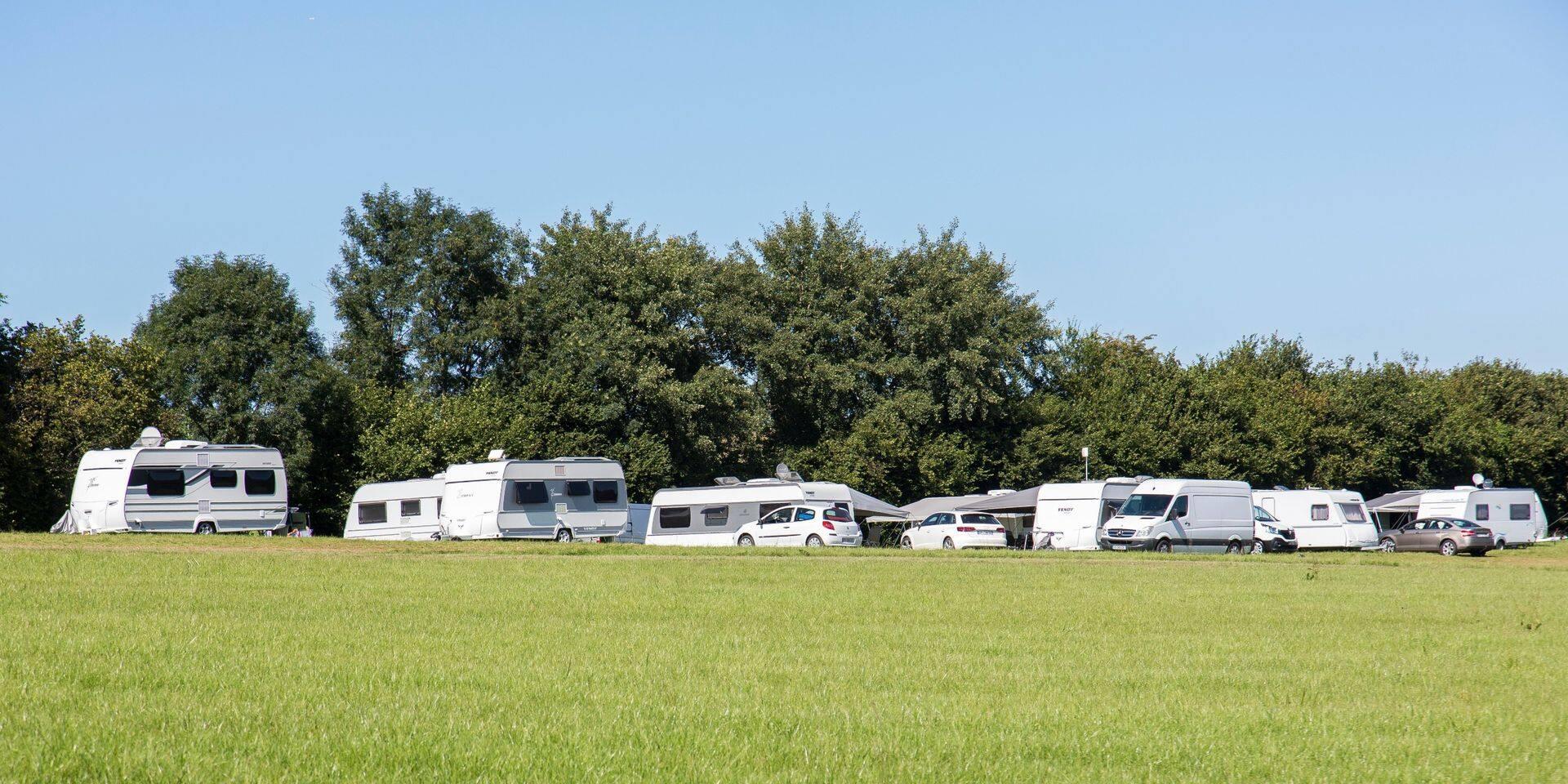 Esneux: les caravanes sont toujours là !