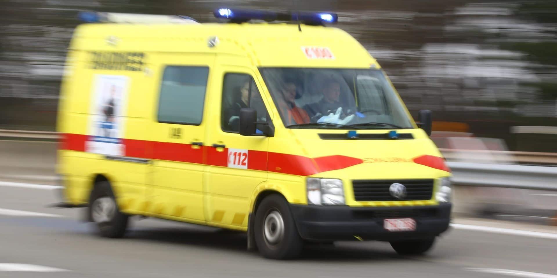 Ougrée: un motard tombé 5 m en contrebas de la chaussée!