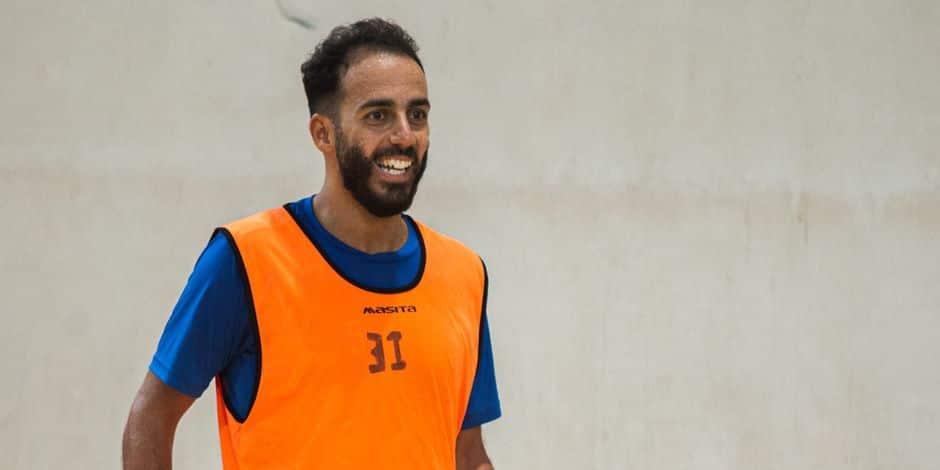 "L'international belge de futsal Reda Dahbi relativise après sa blessure : ""Je vais revenir encore plus fort"""