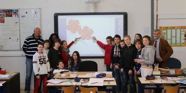 Thuin: 32 000 euros pour deux nouveaux tableaux blancs interactifs dans les écoles