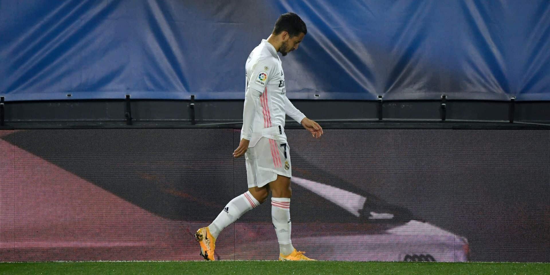 10 blessures, 48 matchs manqués, 324 jours d'absence... le dramatique bilan d'Eden Hazard à Madrid