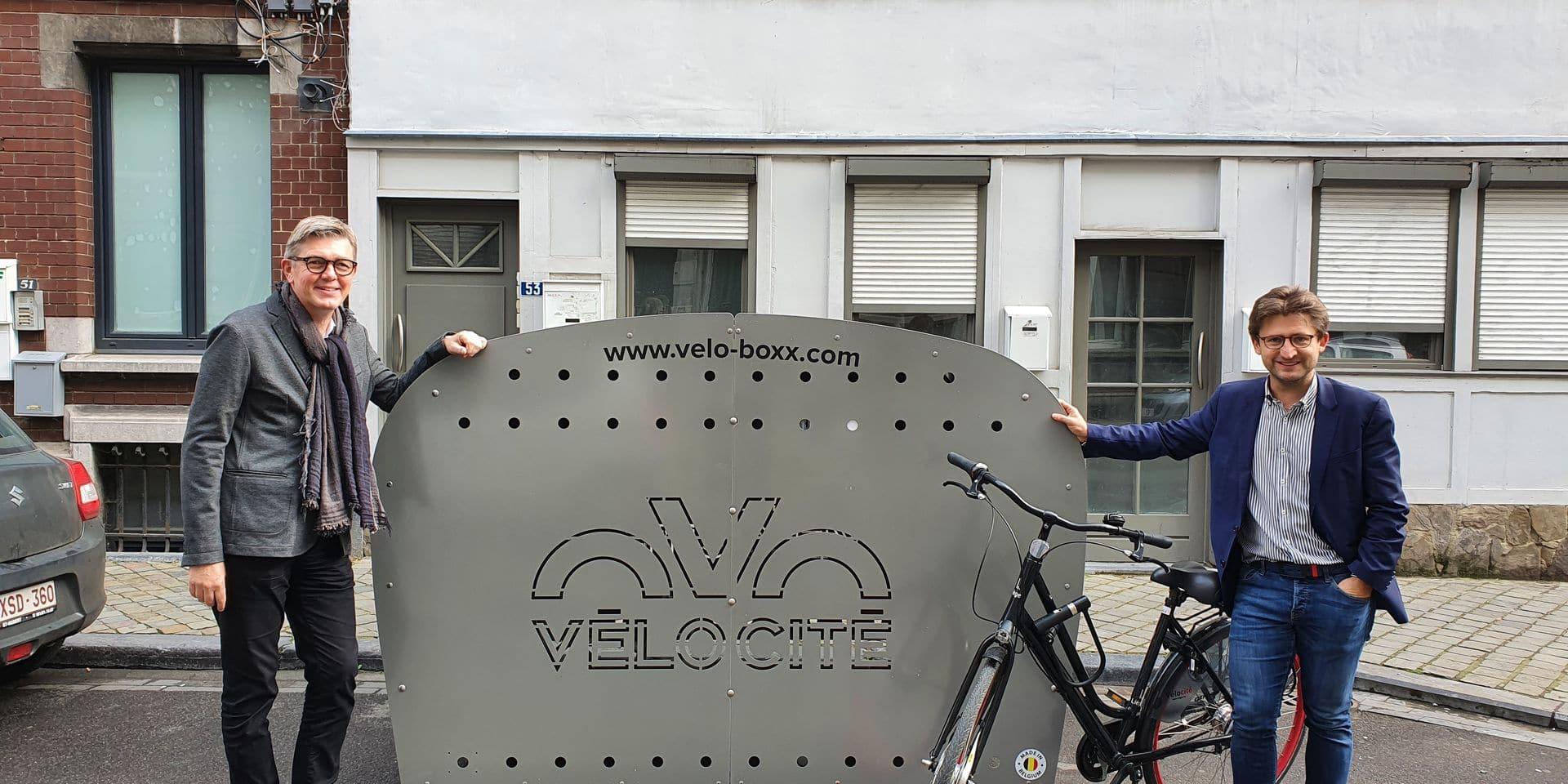 Des box à vélos un peu partout dans la ville !