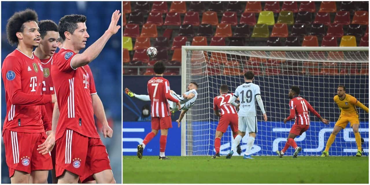 Ligue des Champions: un bijou de Giroud permet à Chelsea de s'imposer à l'Atletico, le Bayern écrase... - dh.be