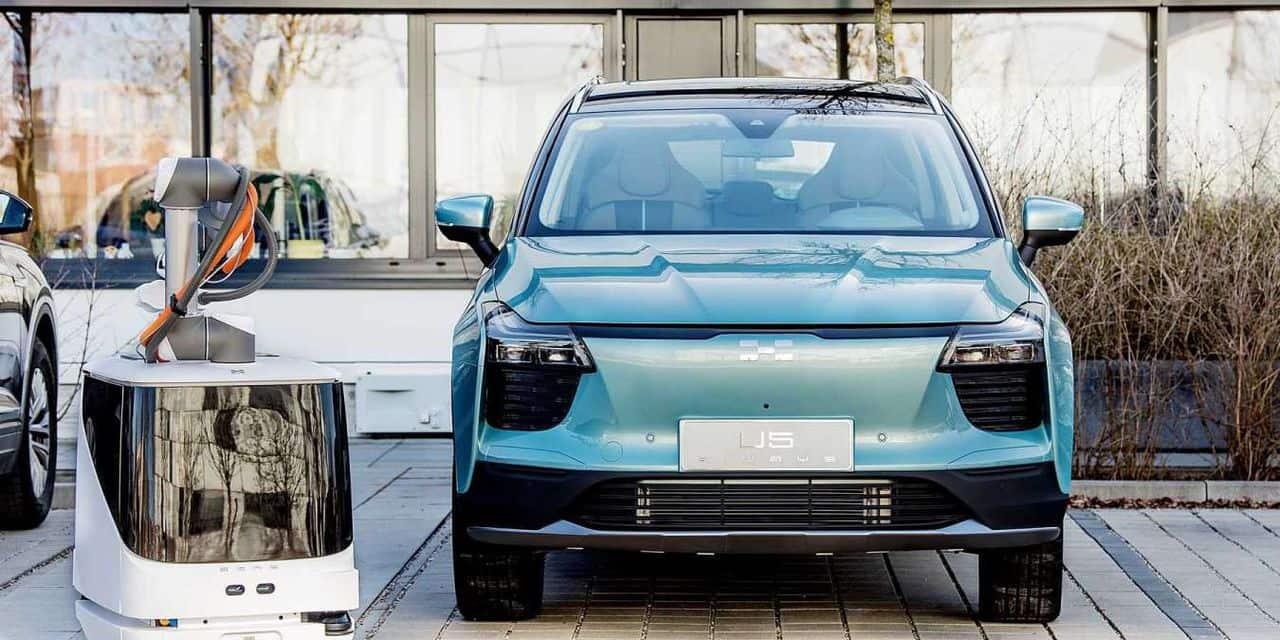 Des robots pour charger vos autos : quand la borne vient à vous !