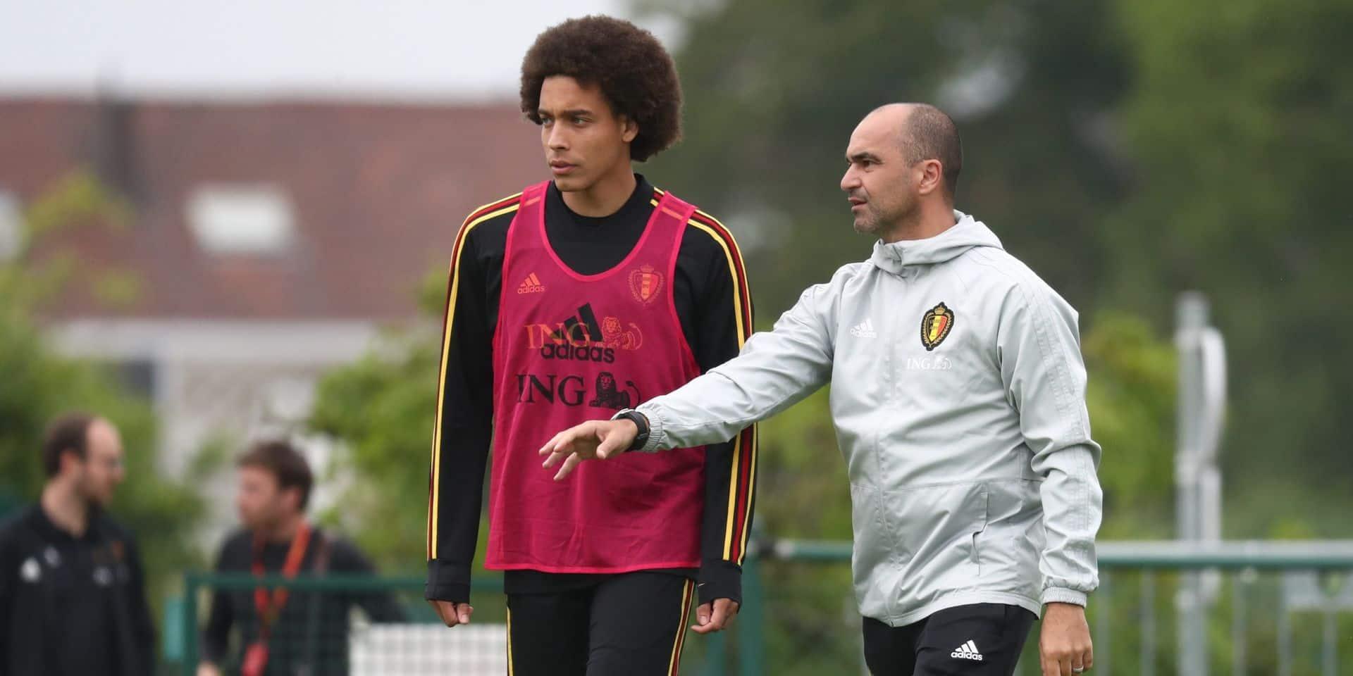 """Roberto Martinez fait le point sur la situation de De Bruyne et Hazard: """"Il n'y a pas de poker menteur. Il est trop tôt pour décider"""""""