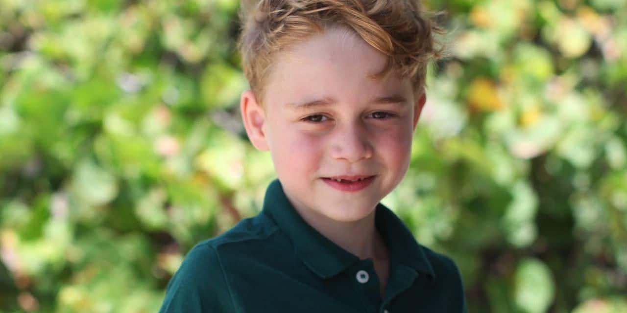 Le prince George plus que jamais dans les pas de son père