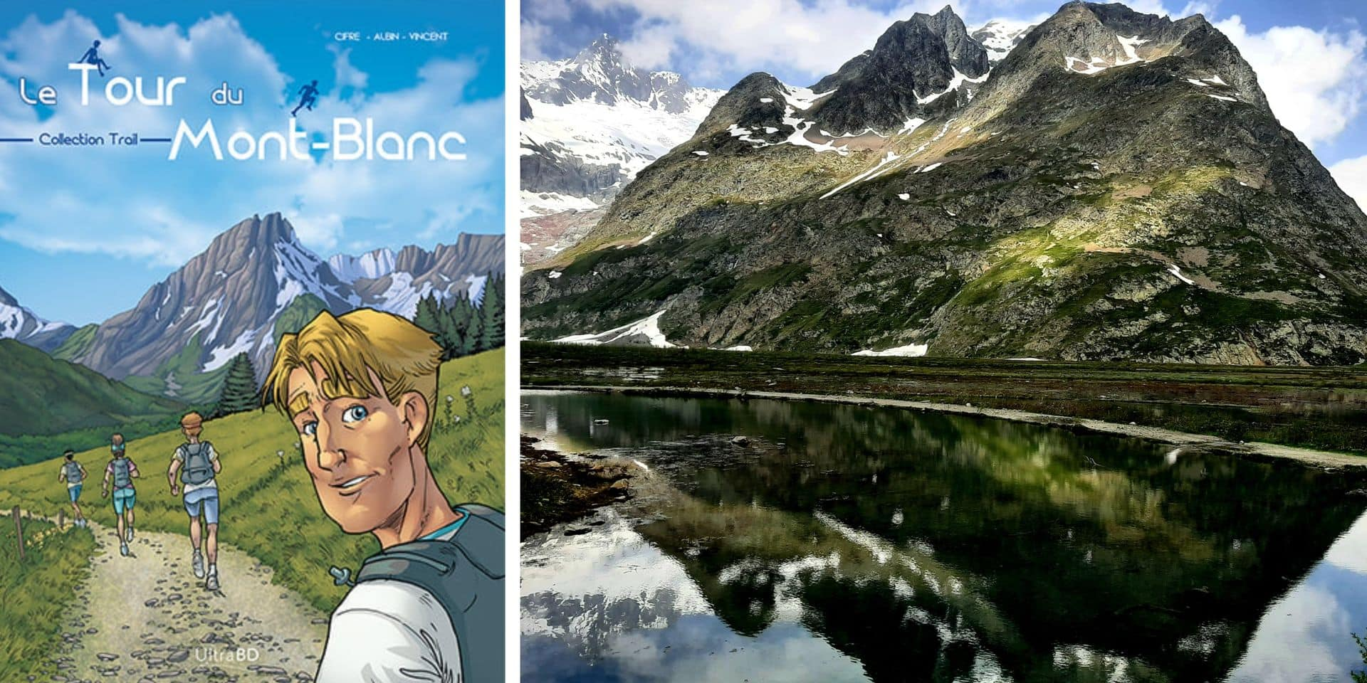Le Tour du Mont-Blanc se décline en bande dessinée