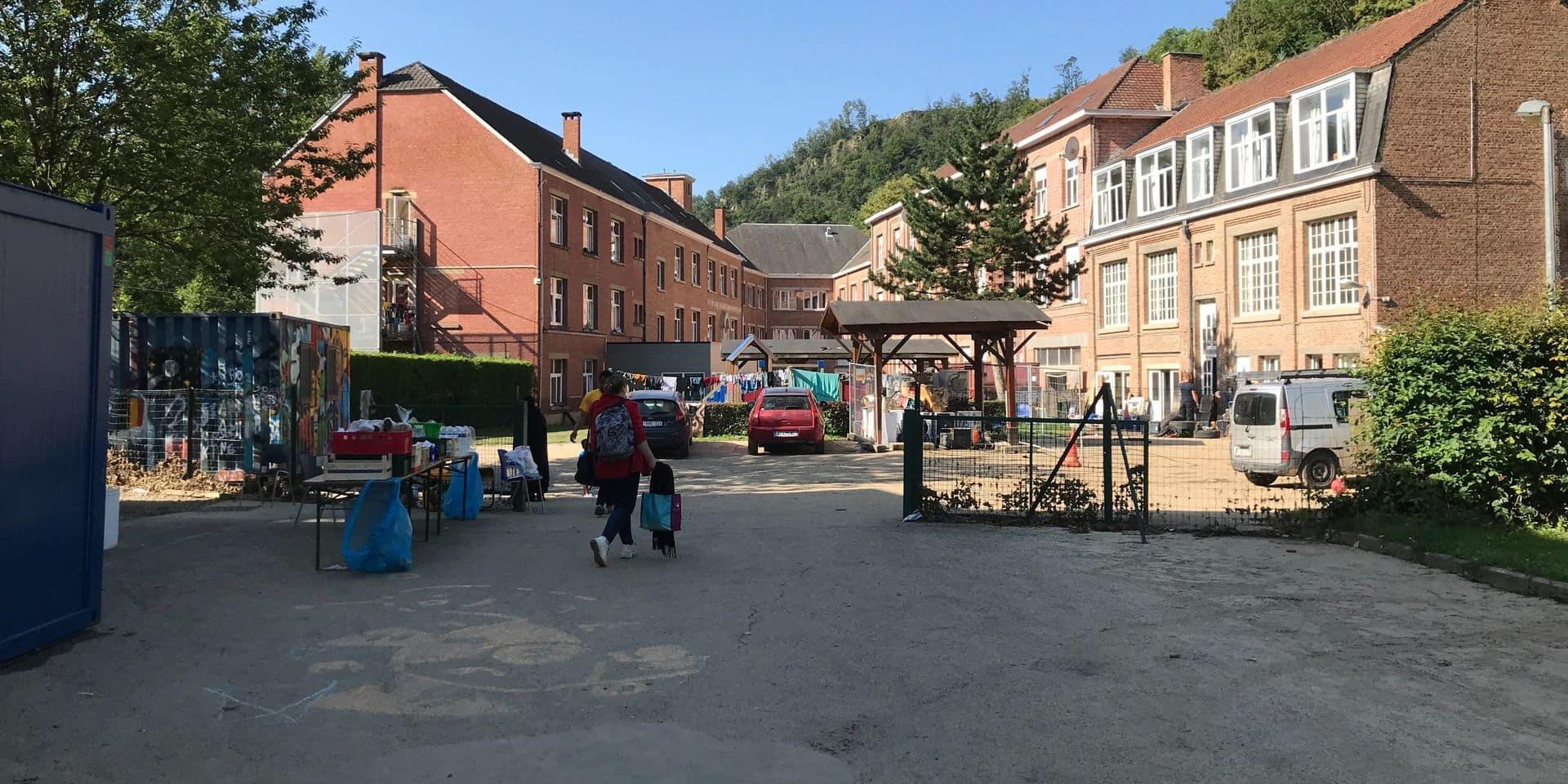 Les résidents du centre d'Yvoir Pierre Bleue évacués ce lundi