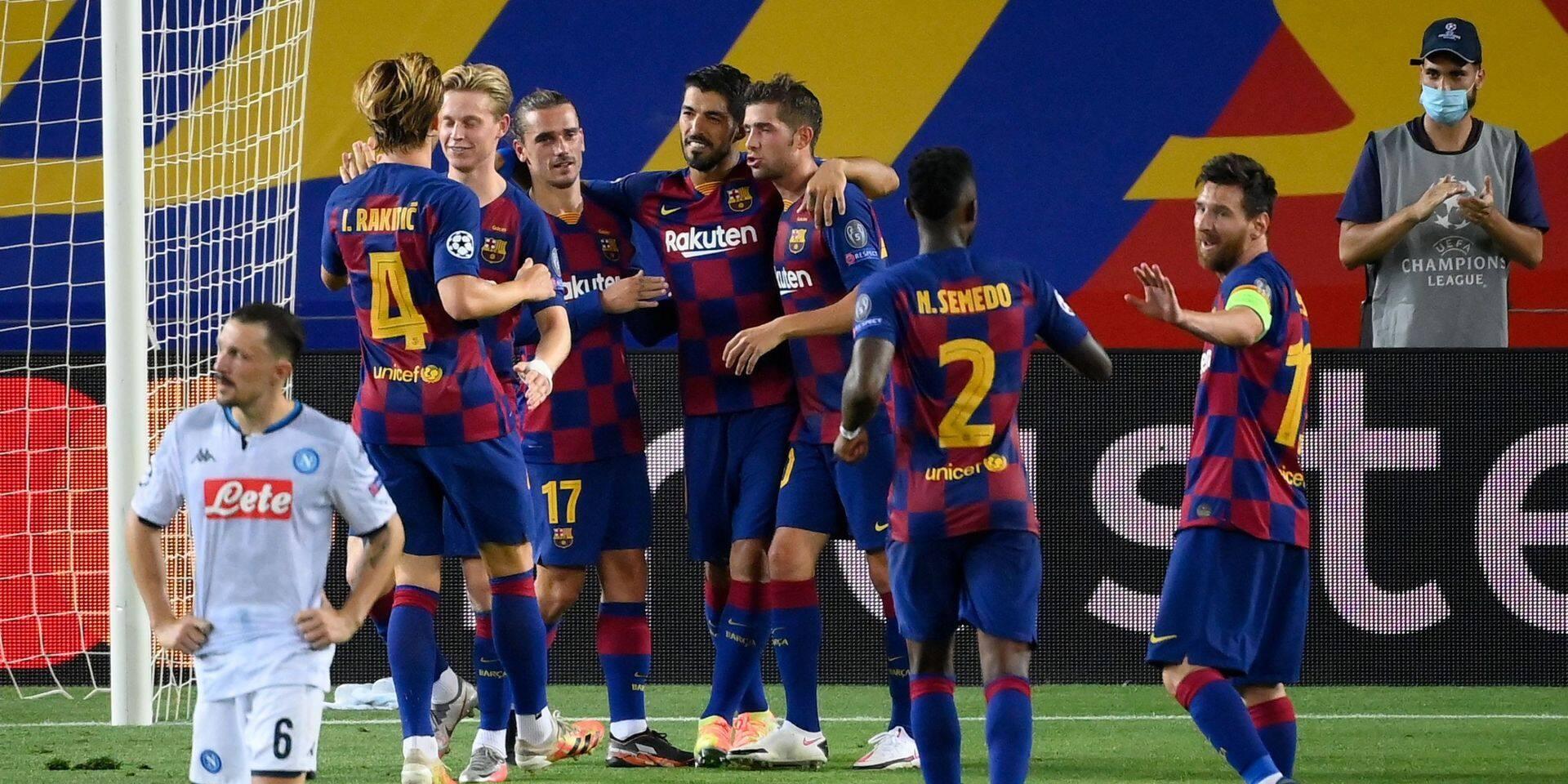 Un joueur de Barcelone testé positif, le match face au Bayern maintenu