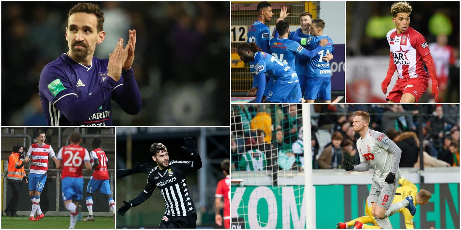 Anderlecht et le Standard, victorieux contre Courtrai et au Cercle, valident leur ticket pour les PO1, Charleroi éliminé malgré sa victoire à l'Antwerp