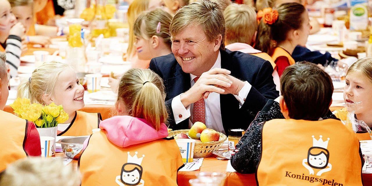 Willem-Alexander, un roi très joueur...