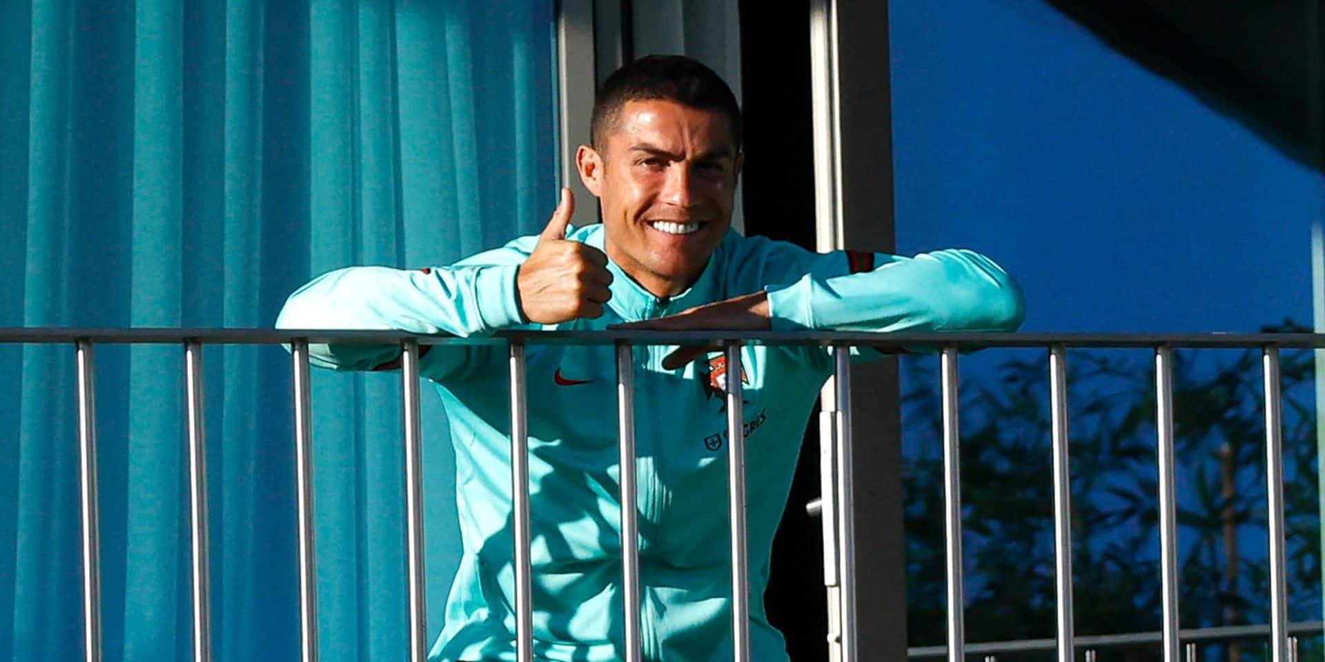 Cristiano Ronaldo testé négatif au coronavirus après 19 jours d'isolement