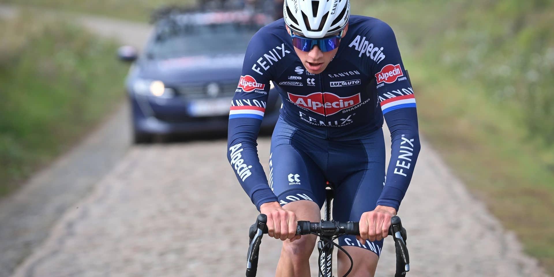 """Van der Poel ambitieux pour Paris-Roubaix : """"Je peux gagner"""""""