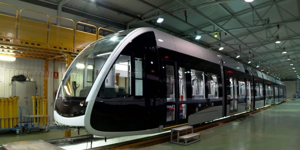 Le tram de Liège est sur les rails !