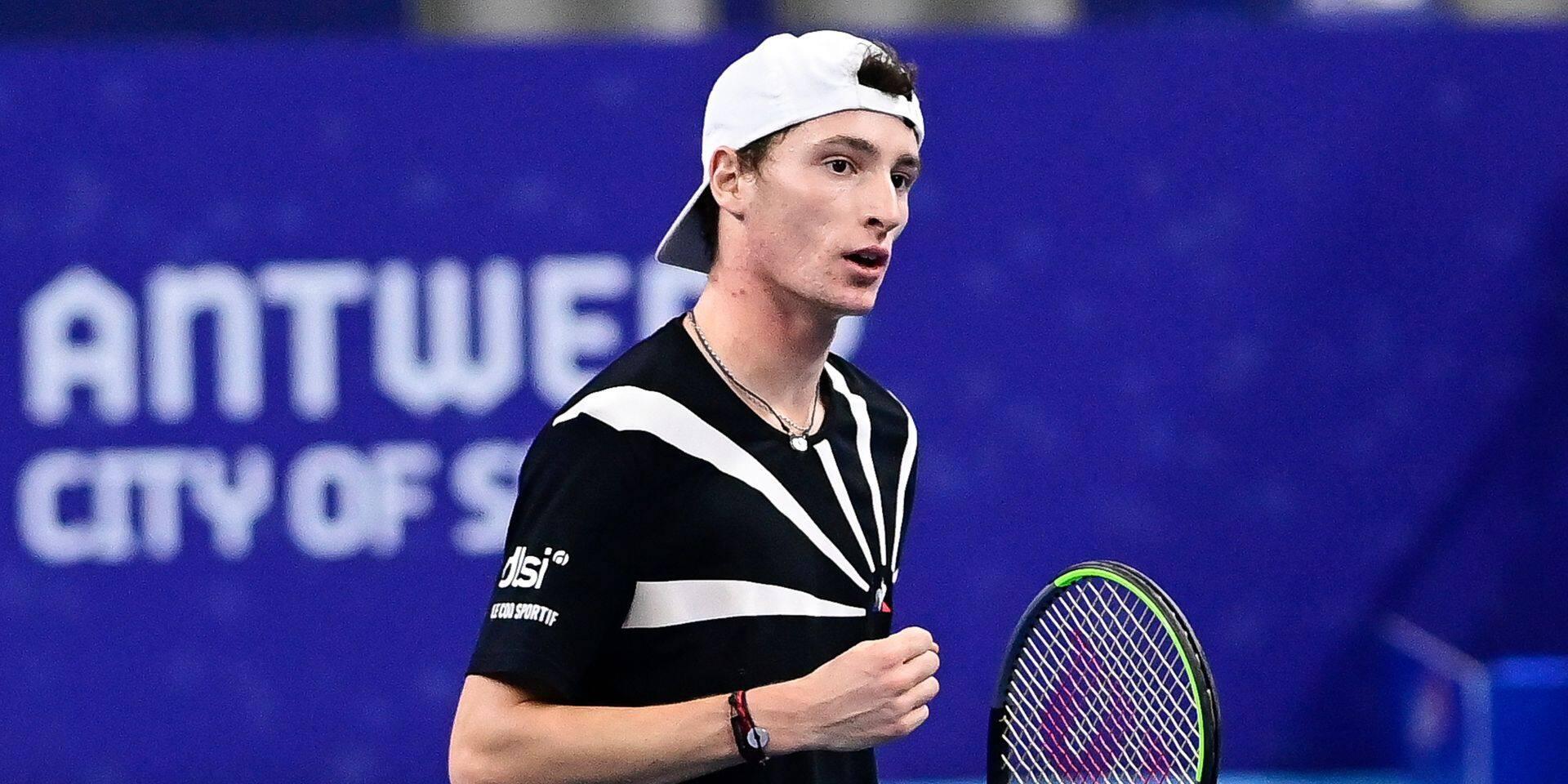 European Open: le Français Ugo Humbert se qualifie pour les demi-finales